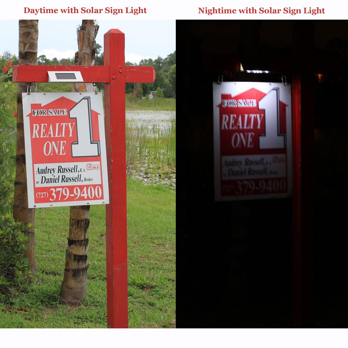 Clear Lake Enterprises Solar Sign Lights