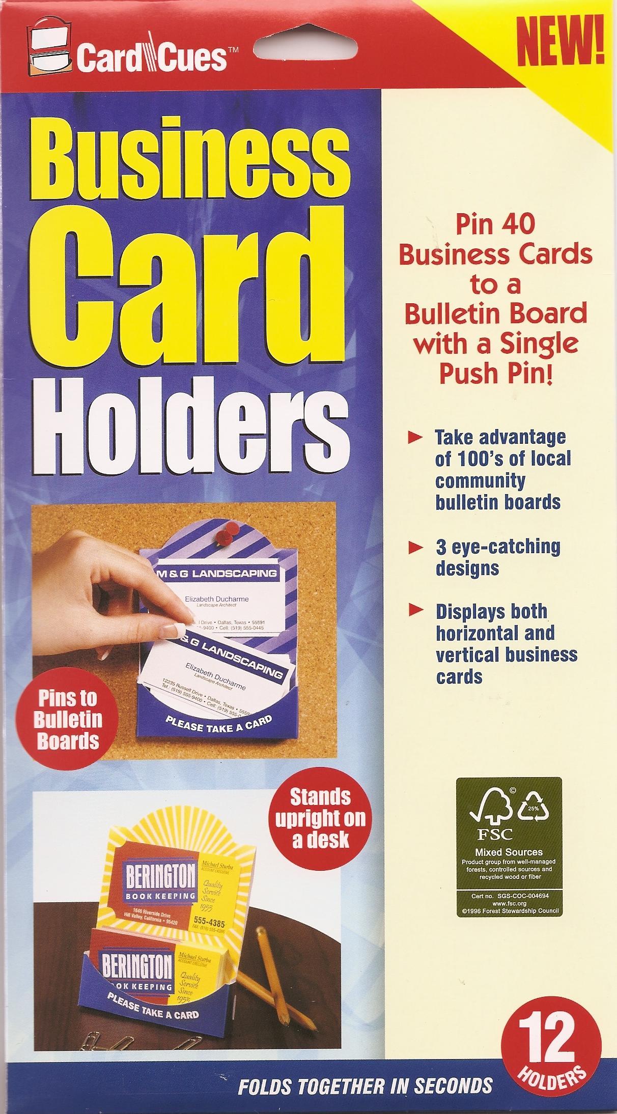 Clear Lake Enterprises: CardCues