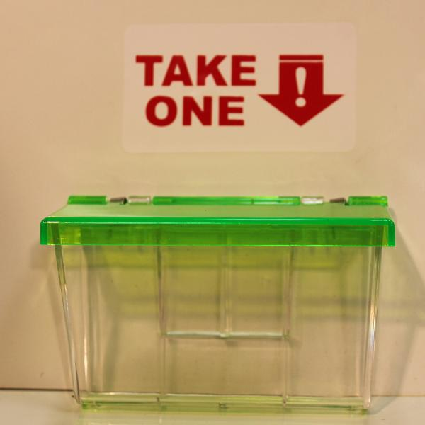 Clear lake enterprises neon green lid every business needs some of these inexpensive and extremely effective colourmoves