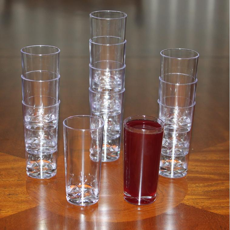 Clear lake enterprises shot glasses tubes shooters for How to make mini desserts in shot glasses